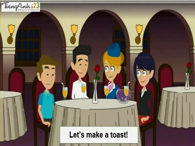Bài 34: Making a toast