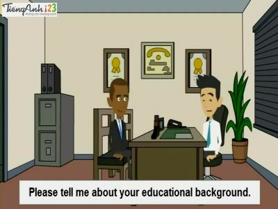 Bài 46: Educational Background