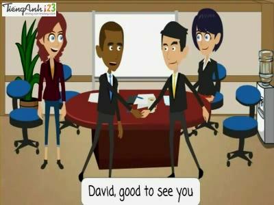 Bài 85: Greeting a client