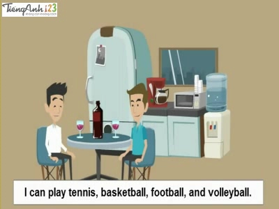 Bài 9: What sports can you play?